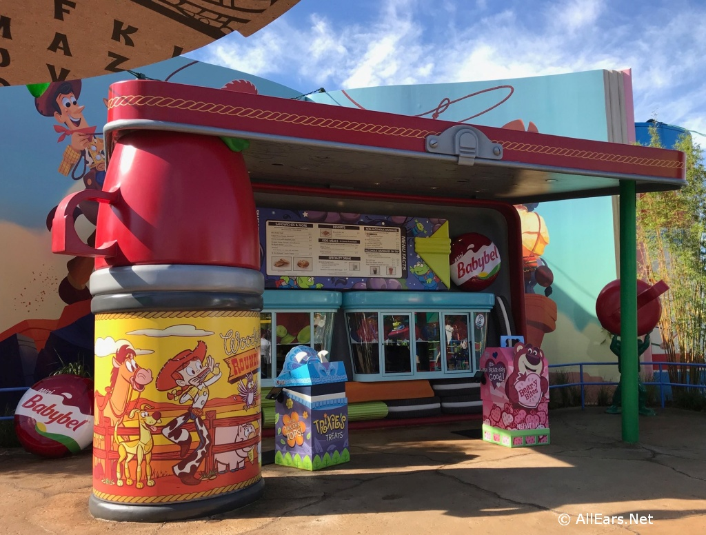Woody's Lunchbox Exterior