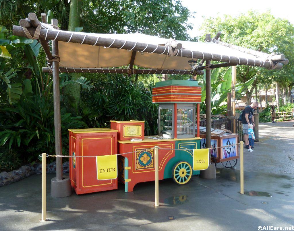 Egg Roll Cart