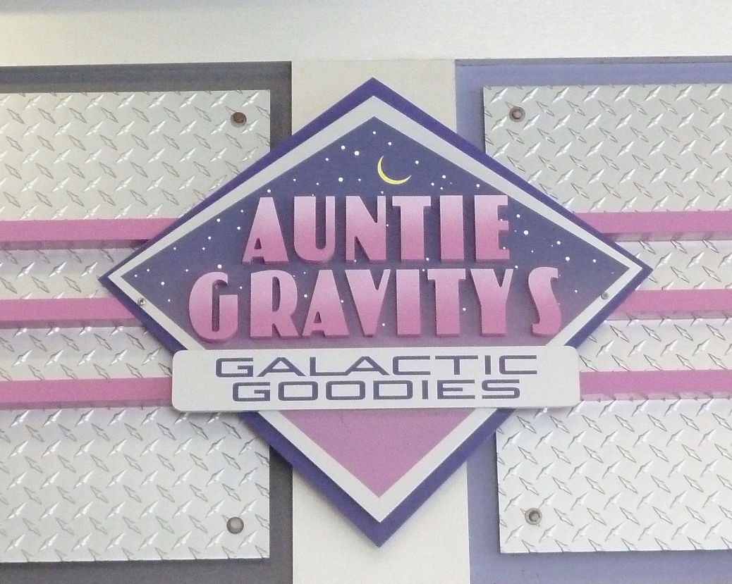 Auntie Gravity's Sign