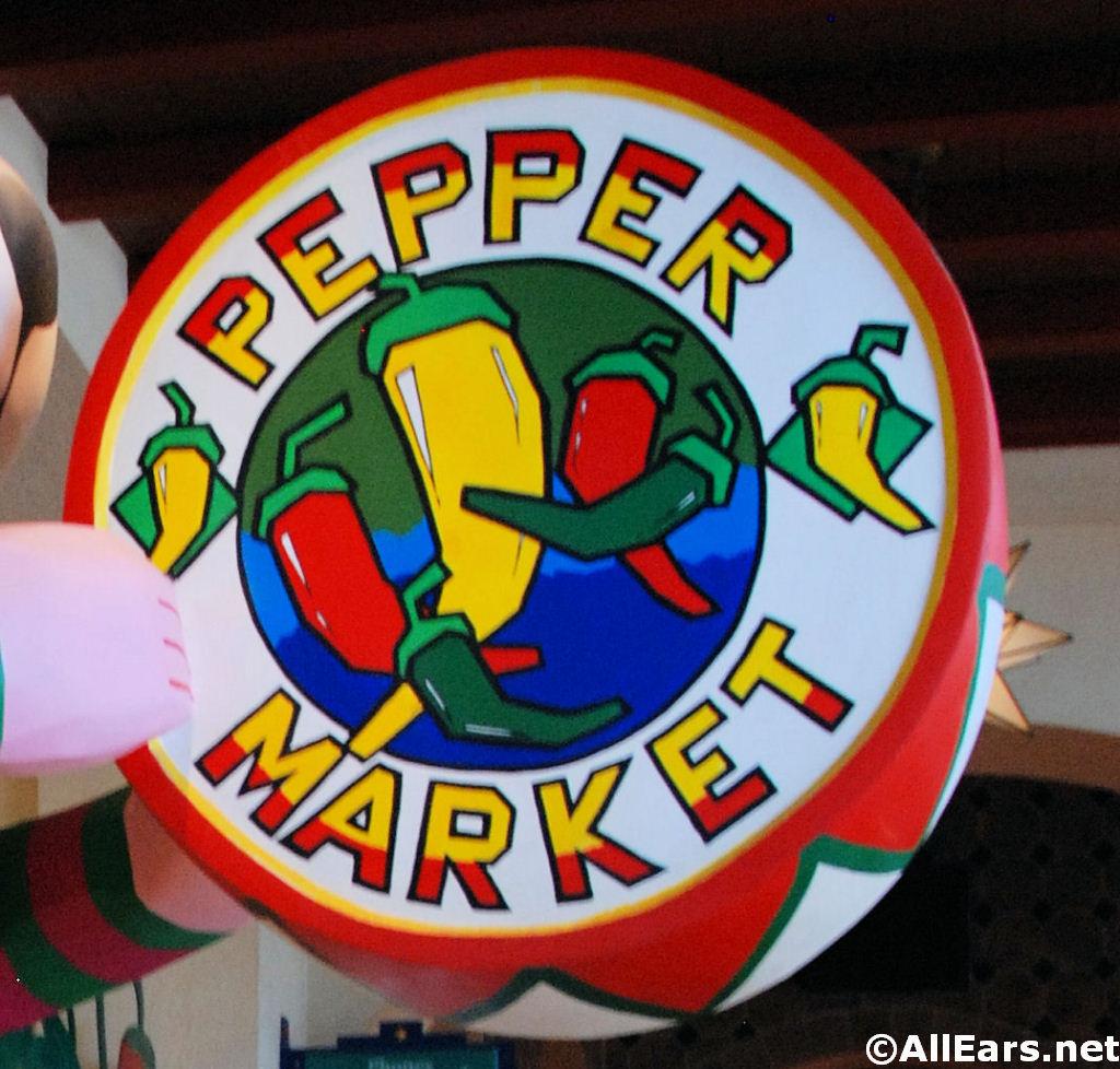 Pepper Market Signage