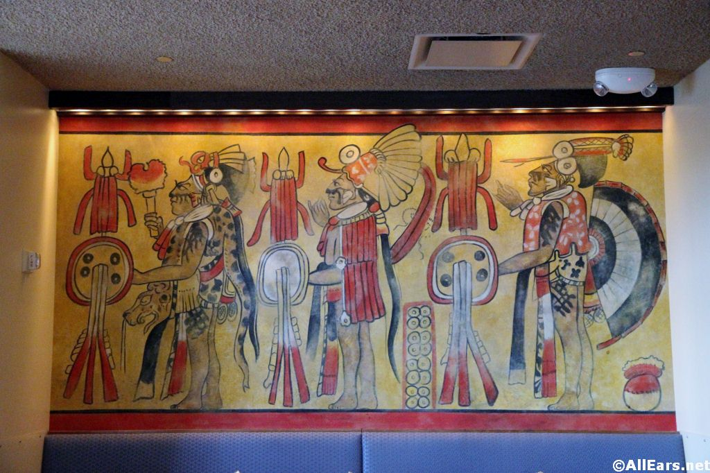 Maya Grill Artwork at Coronado Springs