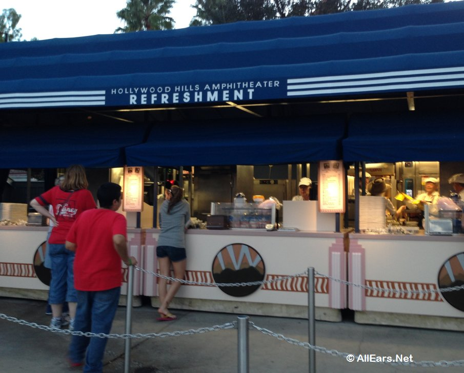 Hollywood Hills Theater Refreshment Stand