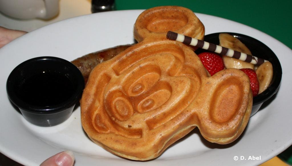 Sci Fi Breakfast Mickey Waffle