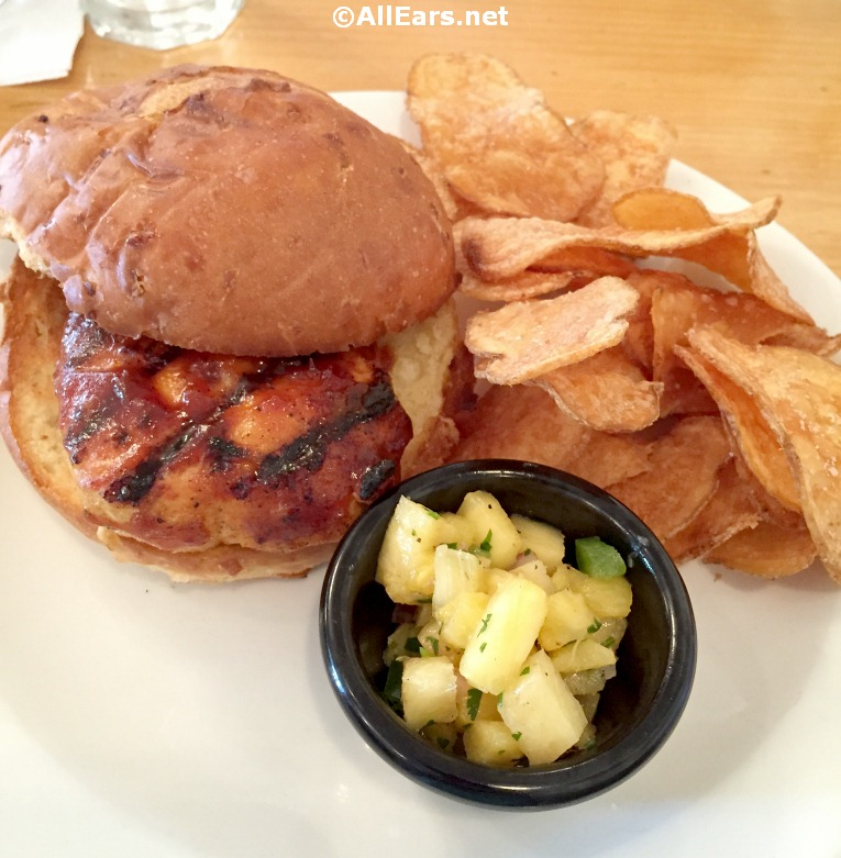 Previously Offered Tortuga Chicken Sandwich