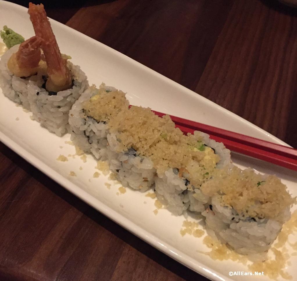 Morimoto Asia Shrimp Tempura sushi