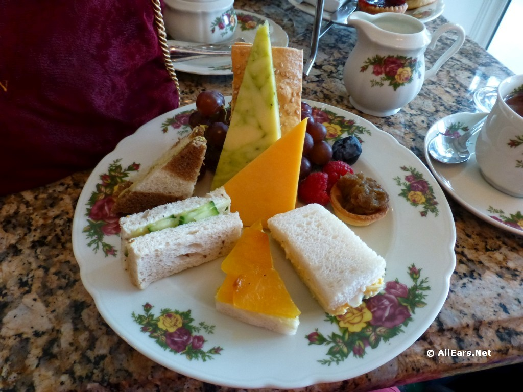 Finger Sandwiches and Cheese Plate