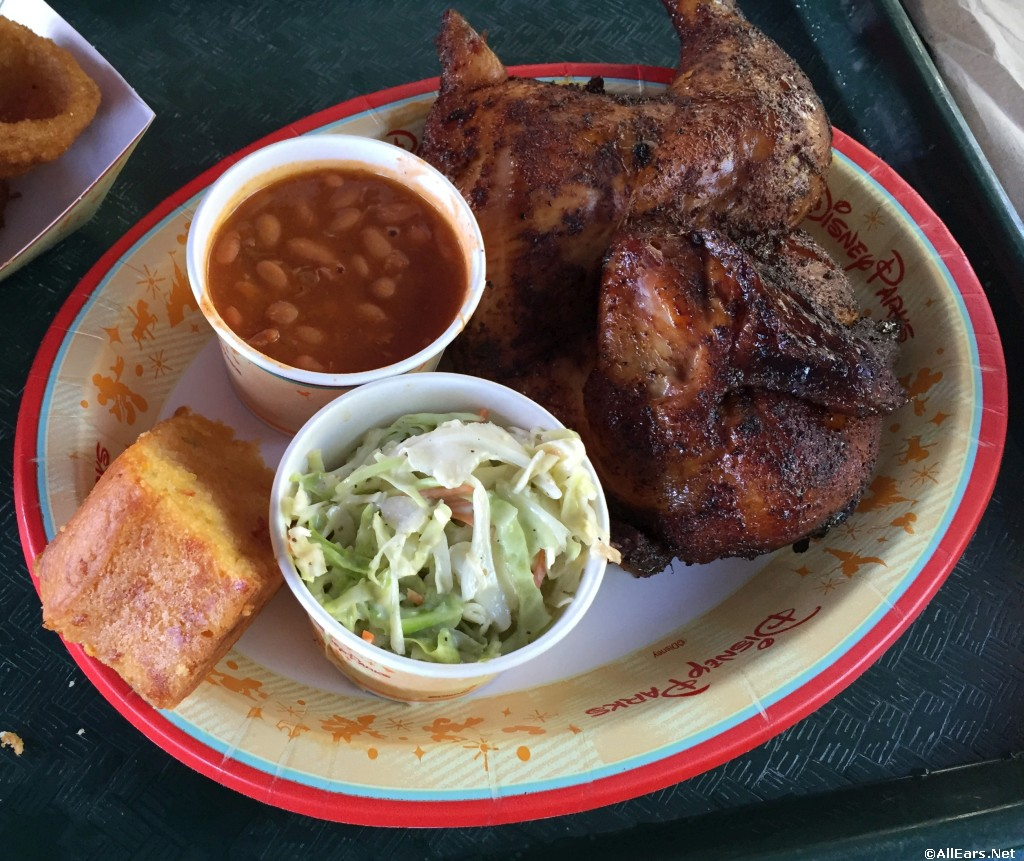 Flame Tree Bbq Lunch Dinner Menu Discovery Island Disney S