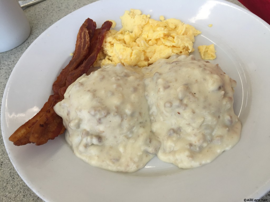 Previously Offered Biscuits & Gravy with Eggs