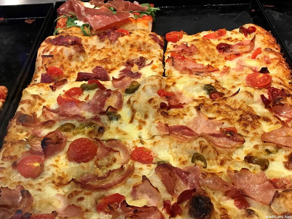Porchetta Pizza by the Slice