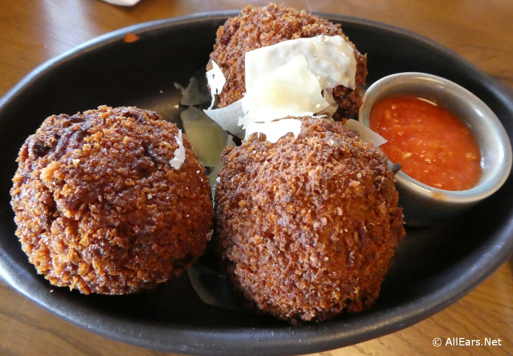 Spaghetti Fritters at Terralina Crafted Italian