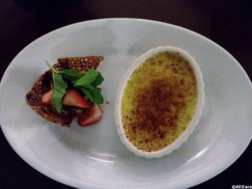 Tony's Pistachio Creme Brulee