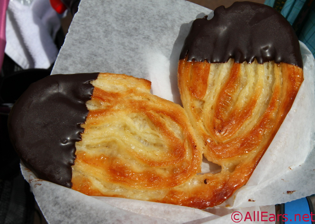 Elephant Ear Pastry Chocolate Dipped