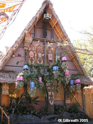 Tiki Room Front for 50th Anniversary