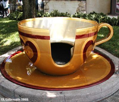 Golden Teacup