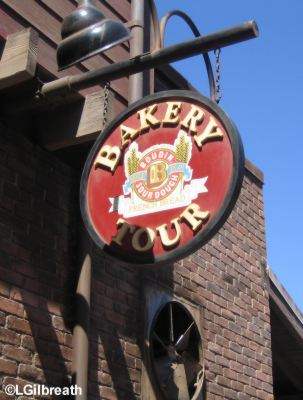The Bakery Tour  Hosted by Boudin Bakery®  Pacific Wharf  Disney's California Adventure Boudin Bakery Sign