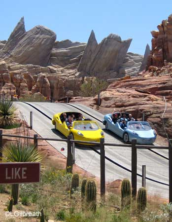 Radiator Springs Racers Racecars