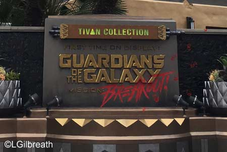 Guardians of the Galaxy - Mission: BREAKOUT!   Hollywood Land  Disney California Adventure Tivan Collection Mission: BREAKOUT!