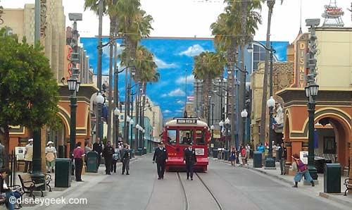 Courtyard Gallery Disney Animation Building, Hollywood Land Disney California Adventure