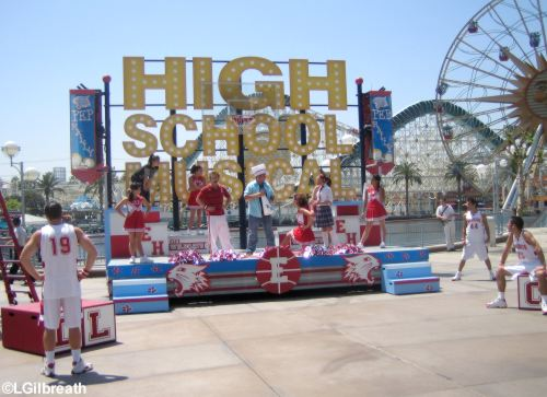 High School Musical stage