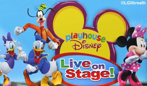 Playhouse Disney - Live on  Stage!   Hollywood Pictures Backlot  Disney's California Adventure Playhouse Disney Sign