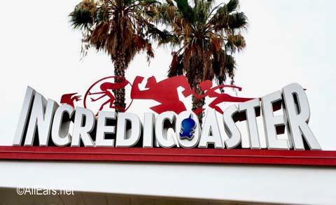 Incredicoaster    Pixar Pier  Disney California Adventure Incredicoaster