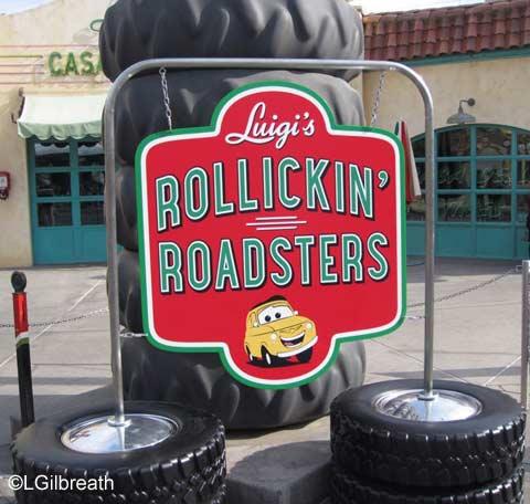 Luigi's Rollickin'  Roadsters    Cars Land  Disney California Adventure Luigi's Rollickin' Roadsters