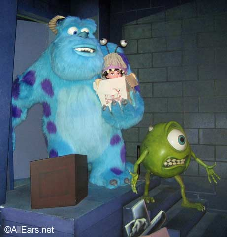 Mike, Sulley, Boo