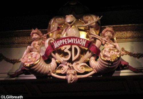 Muppet theater decoration