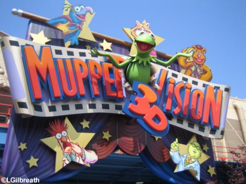 MuppetVision Sign