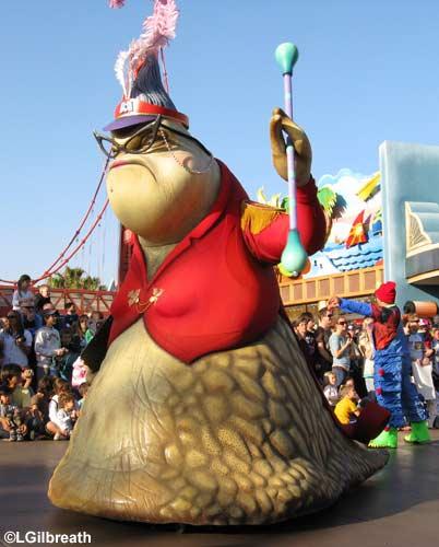 The Pixar Play Parade