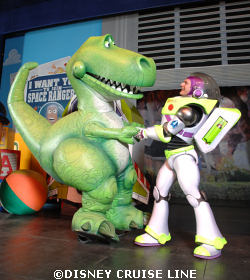Rex and Buzz Toy Story the Musical