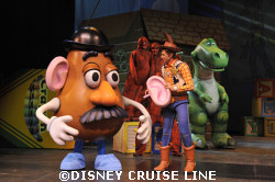 Mr. Potato Head, Woody and Rex Toy Story the Musical