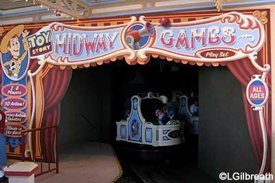 Toy Story Midway Mania  Pixar Pier  Disney California Adventure Toy Story Mania