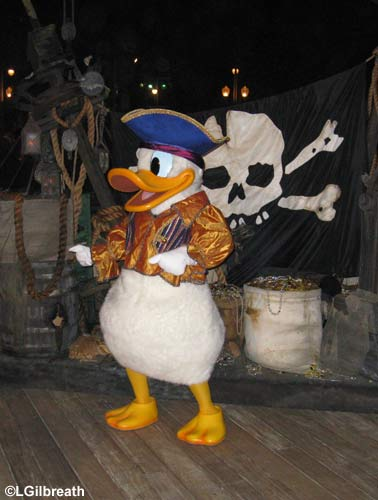 Pirate Donald