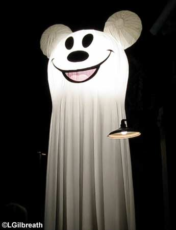 Mickey ghost light