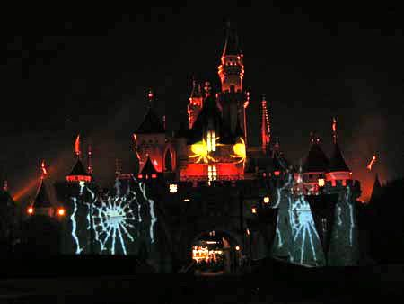 Halloween Sleeping Beauty Castle
