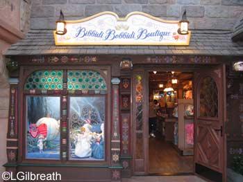 Bibbidi Bobbidi Boutique Fantasyland Disneyland Bibbidi Bobbidi Boutique