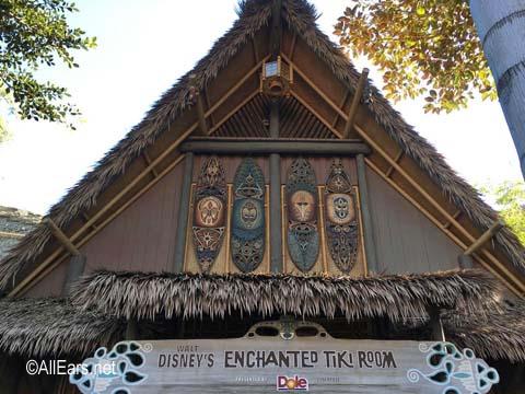 Enchanted Tiki Room  Adventureland  Disneyland Enchanted Tiki Room