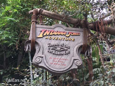 The Indiana Jones Adventure   Adventureland Disneyland Indiana Jones Adventure