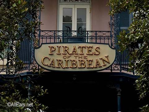 Pirates of the Caribbean   New Orleans Square Disneyland Pirates of the Caribbean Disneyland