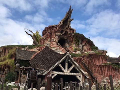 Splash Mountain at Disneyland