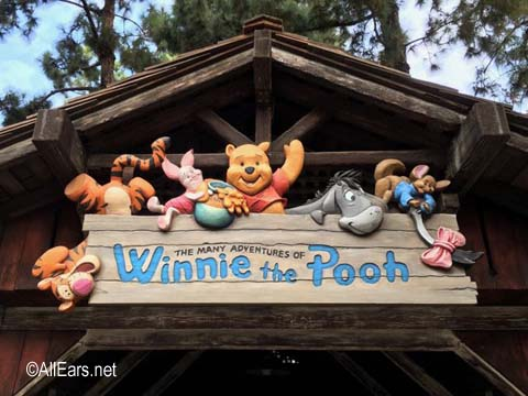 Many Adventures of   Winnie the Pooh  Critter Country Disneyland Many Adventures of Winnie the Pooh
