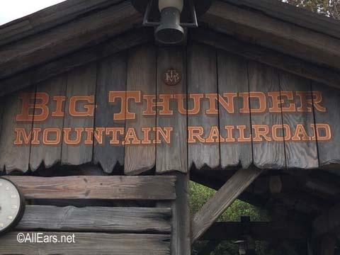 Big Thunder Mountain Railroad  Frontierland Disneyland Big Thunder Mountain Railroad