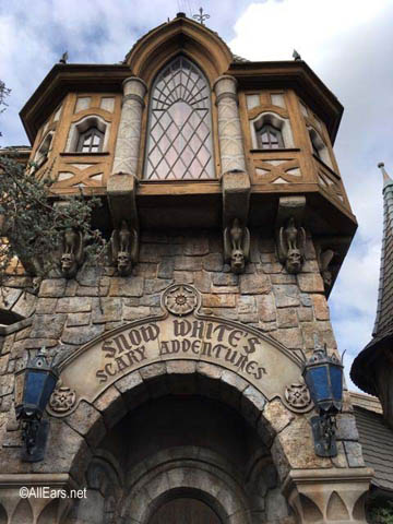Snow White's Scary Adventures   Fantasyland Disneyland Snow White's Scary Adventures at Disneyland