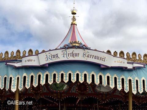 King Arthur Carrousel    Fantasyland Disneyland King Arthur Carrousel