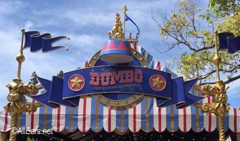 Dumbo the Flying Elephant   Fantasyland Disneyland Dumbo the Flying Elephant