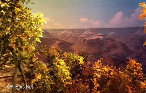 Grand Canyon Diorama