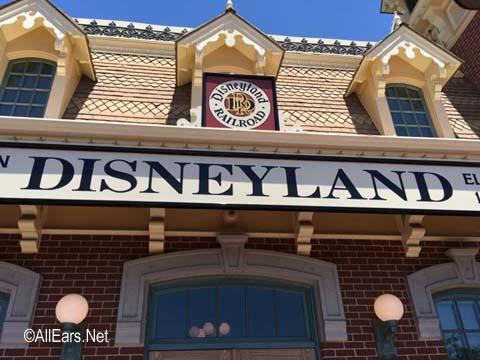 Disneyland Railroad Main Street, U.S.A. Disneyland Disneyland Train