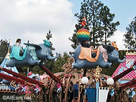 Dumbo at Disneyland