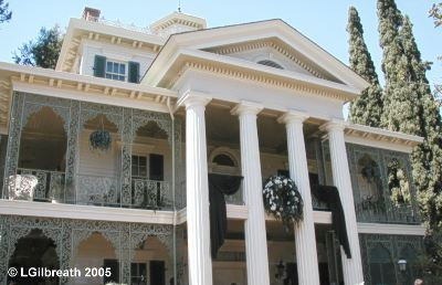 The Haunted Mansion New Orleans Square Disneyland Haunted Mansion at Disneyland
